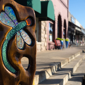 Sculpture on Main in Marble Falls