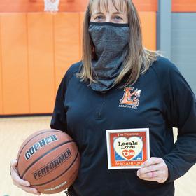 Packsaddle Elementary PE teacher Misti Atkinson