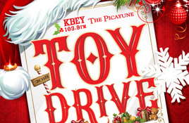 The Picayune and KBEY 103.9 FM Toy Drive Helps Three Nonprofits Spread Christmas Cheer