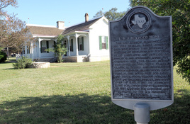 See the House That Built a President; LBJ Boyhood Home Hosts Holiday Lamp-Lit Tours, Event
