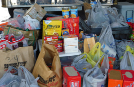The Picayune and KBEY Food Drive a Success; Toy Drive Up Next