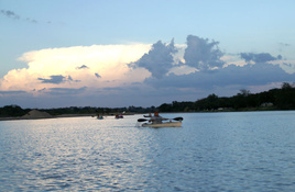 See Nature in New Light on Llano River Sunset Kayak Trip on March 23