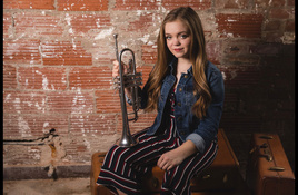 Sarah Grace of 'The Voice' performing in Spicewood