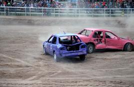 Burnet Demolition Derby fundraiser a 'blast'