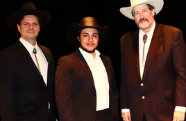 Three Texan Tenors in Christmas concert