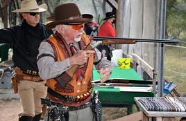Cowboy shooting competition near Bertram Oct. 23-24