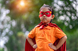 Science Mill's Superhero Scavenger Hunt on Father's Day weekend