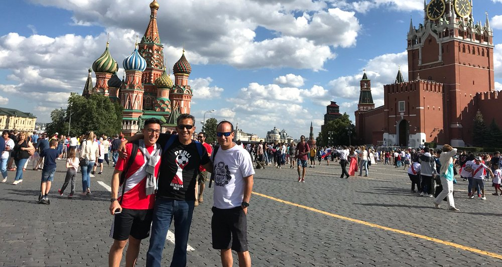 Marble Falls Resident in Russia for World Cup
