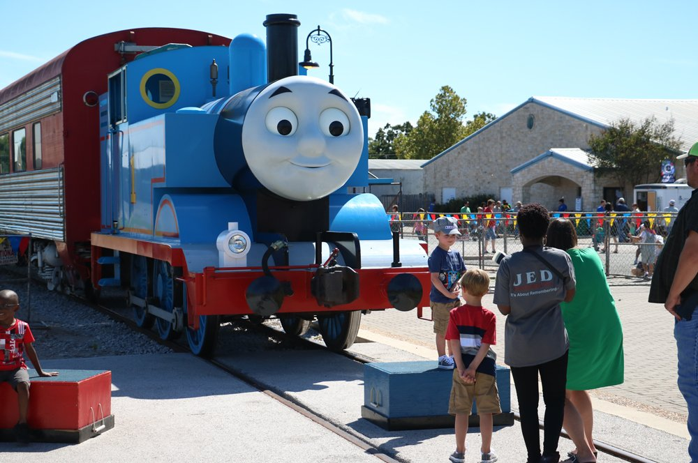 All Aboard! Day Out With Thomas Arrives in Burnet