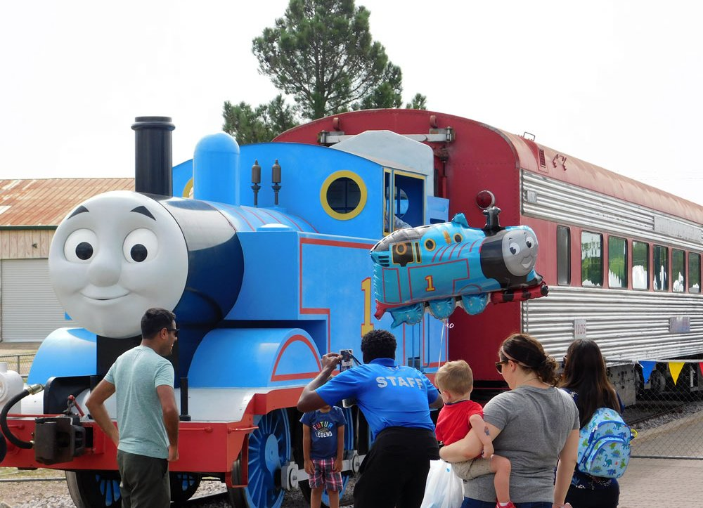 All aboard for Day Out With Thomas!