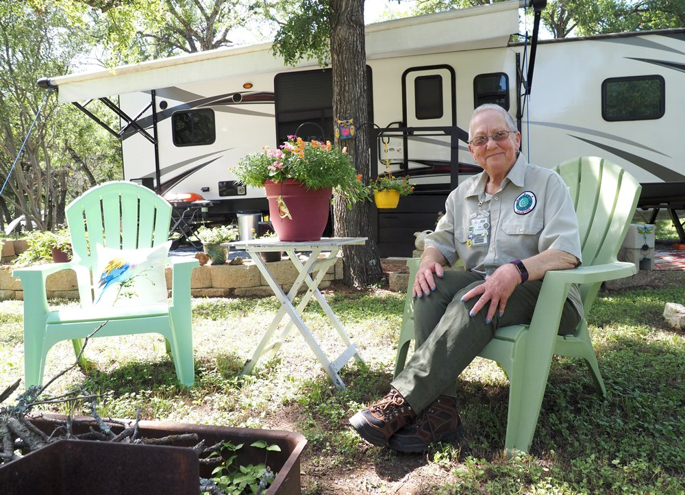 Park hosts make for happy campers