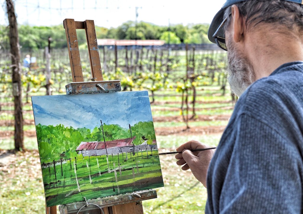 Paint the Town captures Highland Lakes in full color