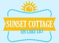 Sunset Cottage on Lake LBJ
