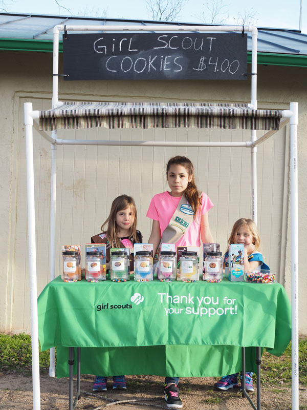 It S Girl Scout Cookie Season In Marble Falls