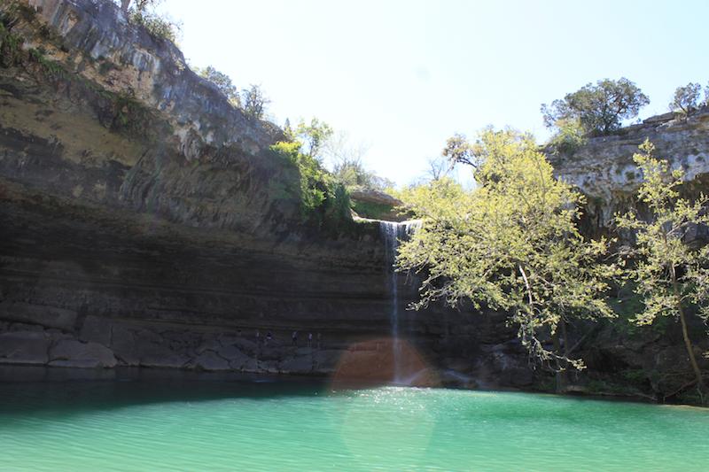 Swim Under A Waterfall At Hamilton Pool