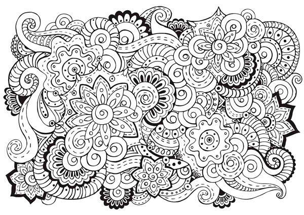 Burnet library offers adult coloring program