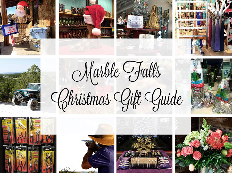 Marble Falls Christmas Gift Guide