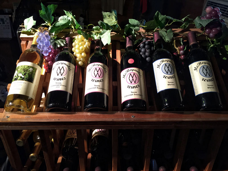McReynolds Wines Marble Falls