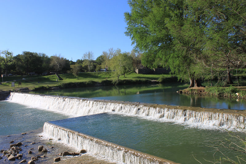 Swim In The Glistening Water At Blanco State Park