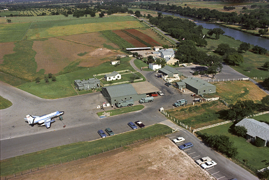 Kiss The Sky At An Airport In The Highland Lakes