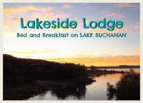 Lakeside Lodge on East Lake Buchanan