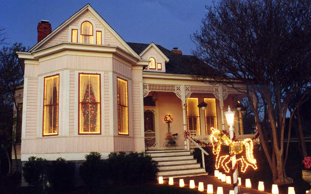 Enjoy a Victorian Christmas at historic Christian-Matern house in Marble Falls