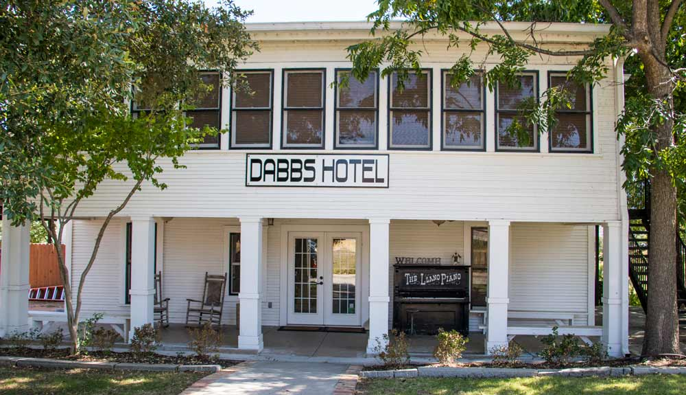 Stay At The Dabbs Railroad Hotel In Llano For History And Comfort