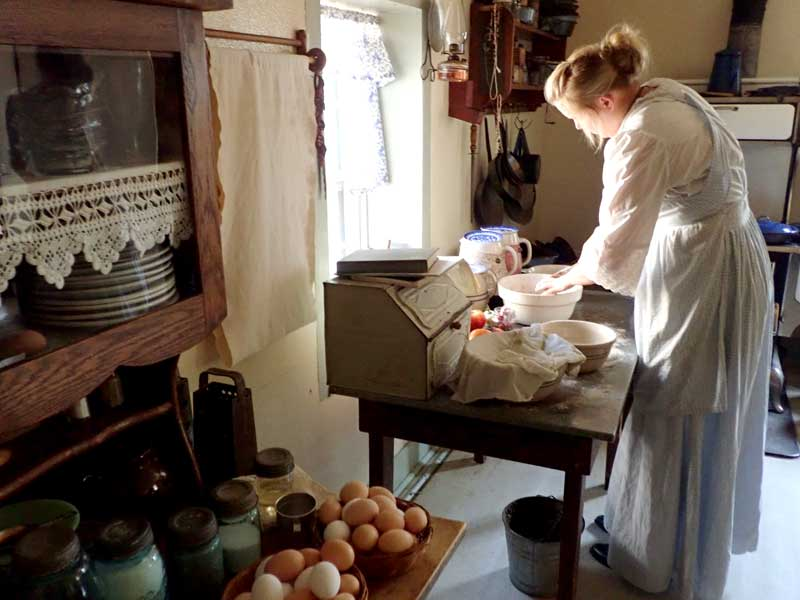 Sauer-Beckmann Farmstead Shows Life Was Simpler (But Hotter)