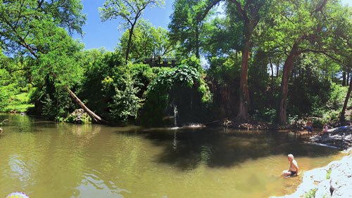 Texas Hill Country Swimming Holes