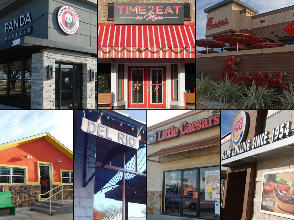 New Marble Falls Restaurants In 2017