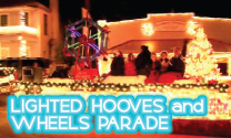 Lighted Hooves and Wheels Parade