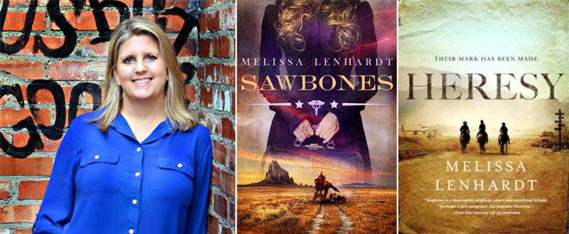 Mystery Novelist Melissa Lenhardt In Burnet