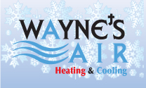 Wayne's Air logo