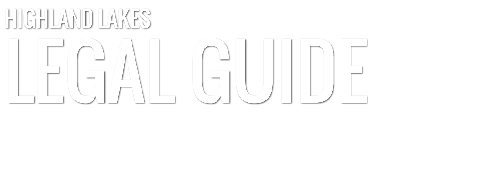 Highland Lakes Legal Guide