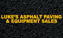 Luke's Asphalt Paving & Equipment Sales logo