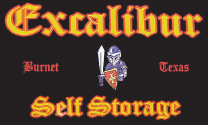 Excalibur Self Storage logo