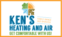 Ken's Heating and Air logo