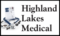 Highland Lakes Medical Supply logo