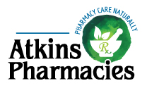 Atkins Pharmacies logo