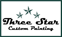 Three Star Custom Painting logo