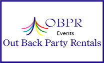 Out Back Party Rentals logo
