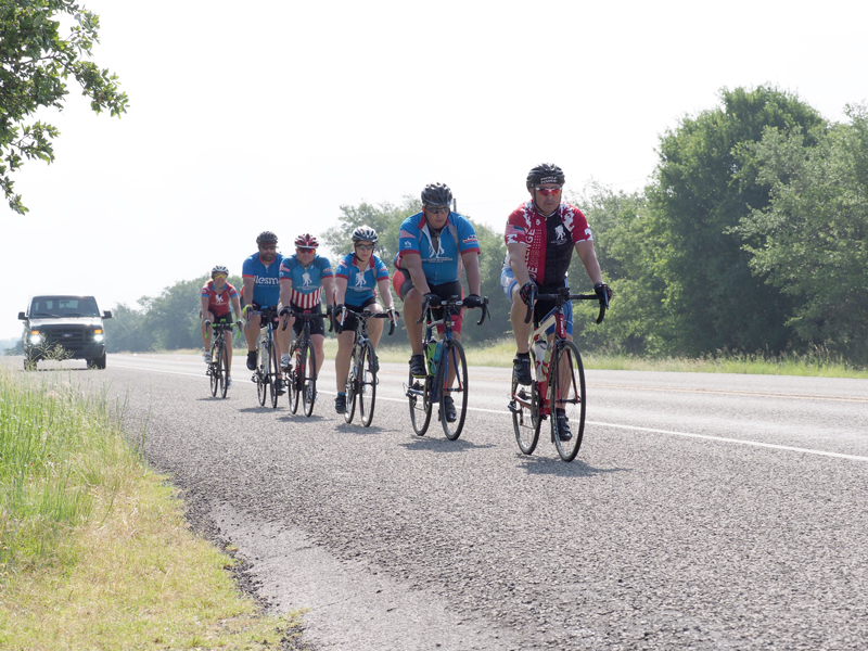 The Wounded Warrior Project s Soldier Ride lets veterans experience a  four-day cycling ride during which ... 58d15dc03