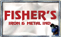 Fisher's Iron & Metal Ind. logo
