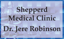 Shepperd Medical Clinic Dr. Jere Robinson logo