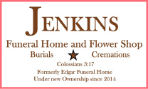 Jenkins Flower & Gift Shop logo