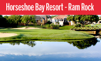 Ram Rock at Horseshoe Bay Resort