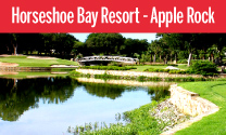 Apple Rock at Horseshoe Bay Resort