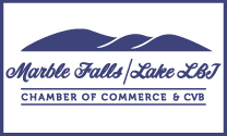 marble falls lake lbj chamber of commerce logo