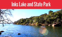 Inks Lake and State Park