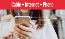 Cable, internet, and phone